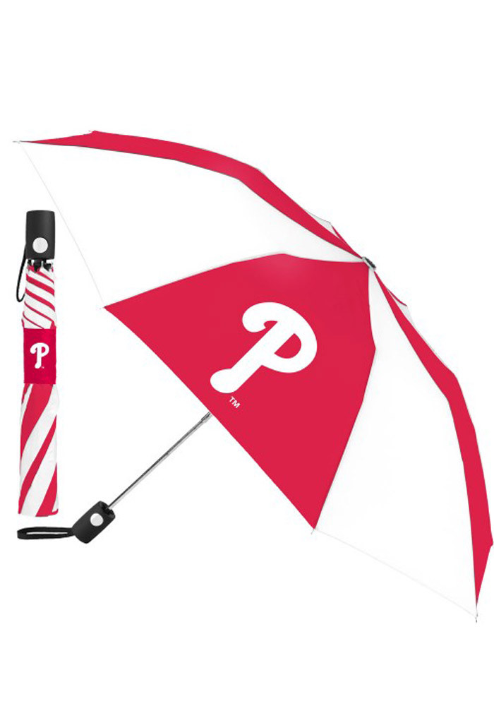 Philadelphia Phillies Auto Fold Umbrella - Image 1