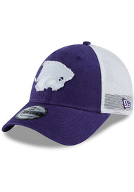 New Era K-State Wildcats Blue JR Team Truckered 9FORTY Youth Adjustable Hat