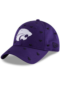New Era K-State Wildcats Purple JR Lovely Fan 9TWENTY Youth Adjustable Hat