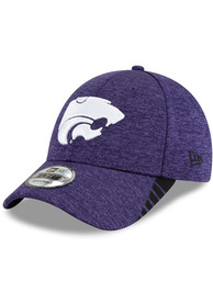 New Era K-State Wildcats Visor Trim 9FORTY Adjustable Hat - Purple
