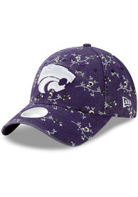 K-State Wildcats Womens New Era Blossom 9TWENTY Adjustable - Purple