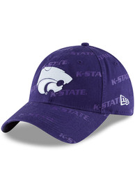New Era K-State Wildcats Womens Purple Worded 9TWENTY Adjustable Hat