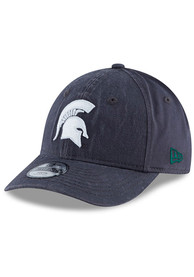 New Era Michigan State Spartans Grey JR Core Classic 9TWENTY Youth Adjustable Hat