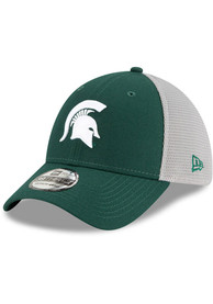 Michigan State Spartans New Era 2T Sided 39THIRTY Flex Hat - Green