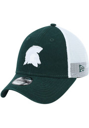 New Era Michigan State Spartans Green JR Team Truckered 9FORTY Adjustable Toddler Hat