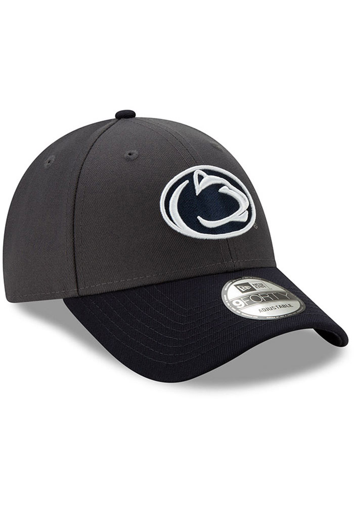 New Era Penn State Nittany Lions League 9FORTY Adjustable Hat - Grey - Image 2