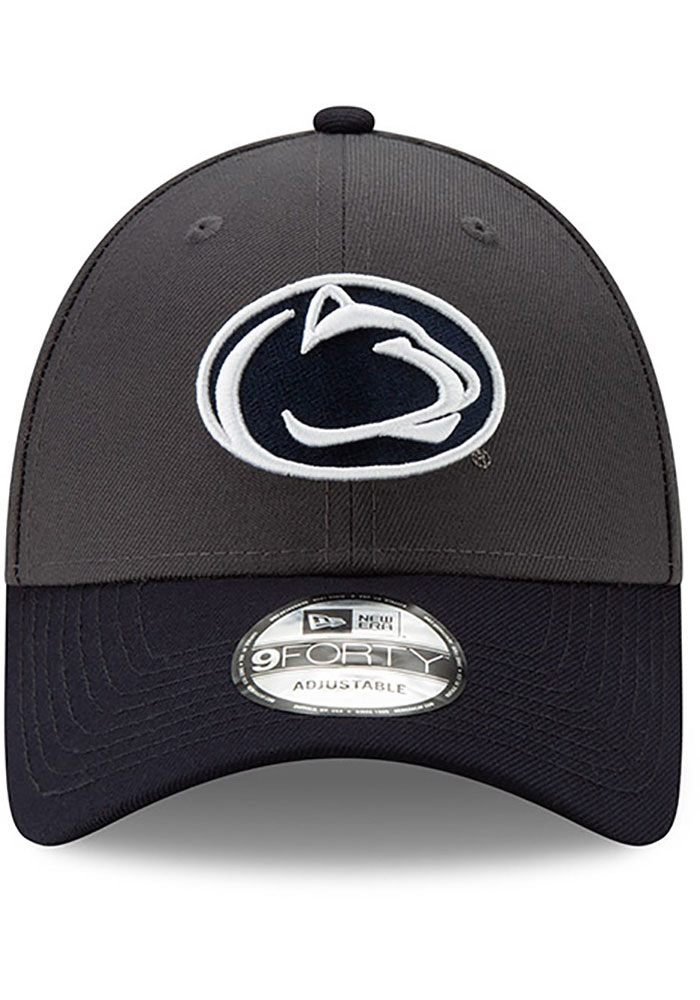 New Era Penn State Nittany Lions League 9FORTY Adjustable Hat - Grey - Image 3