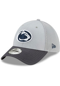 New Era Penn State Nittany Lions Grey Neo 39THIRTY Flex Hat