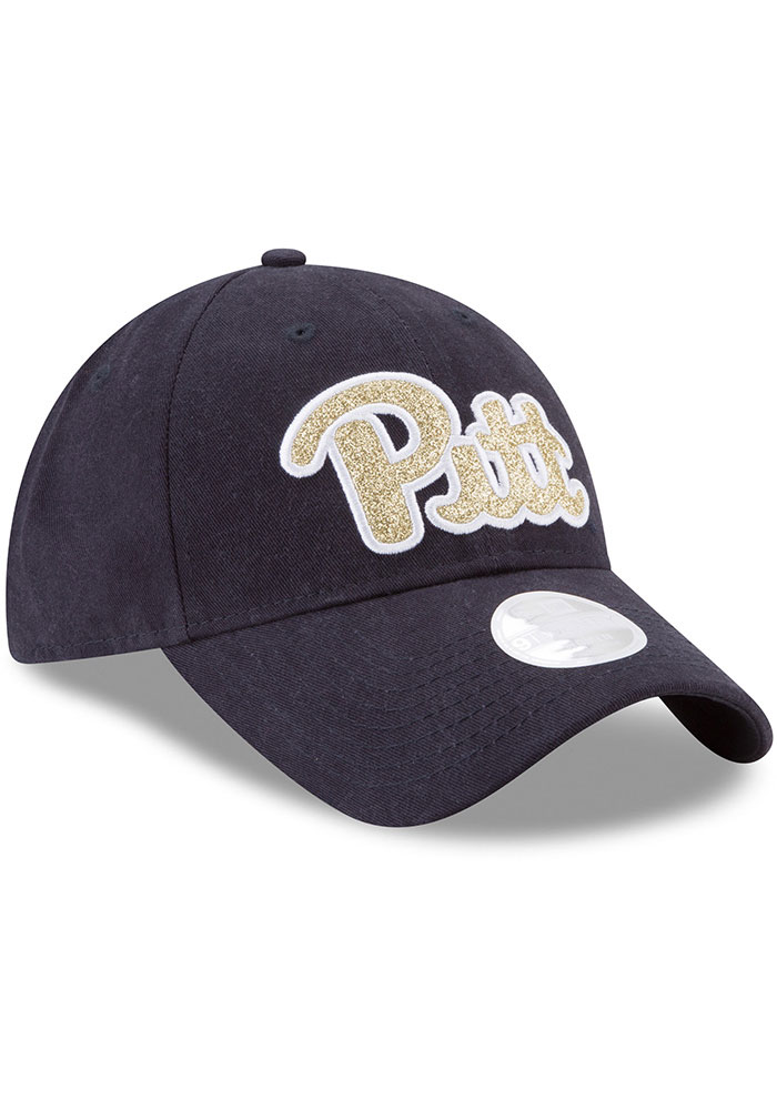New Era Pitt Panthers Blue Team Glisten 9TWENTY Womens Adjustable Hat - Image 2