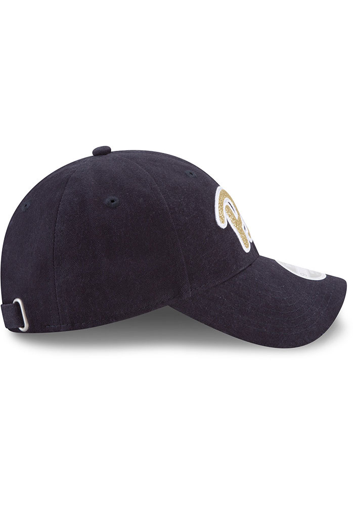 New Era Pitt Panthers Blue Team Glisten 9TWENTY Womens Adjustable Hat - Image 6