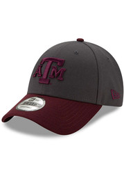 New Era Texas A&M Aggies Grey JR League 9FORTY Youth Adjustable Hat