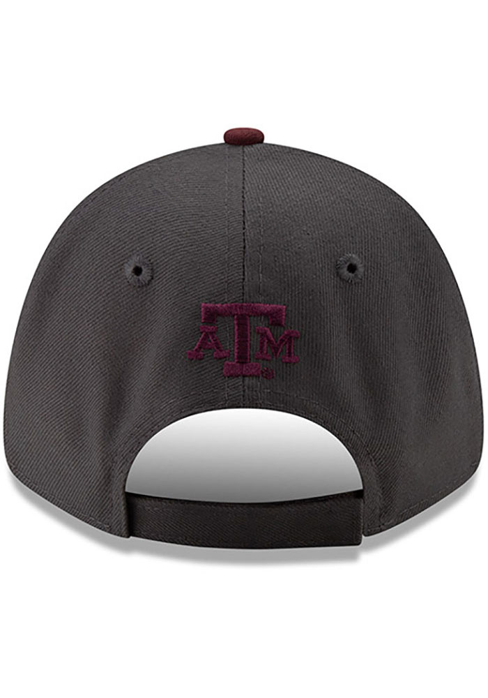 New Era Texas A&M Aggies League 9FORTY Adjustable Hat - Grey - Image 5
