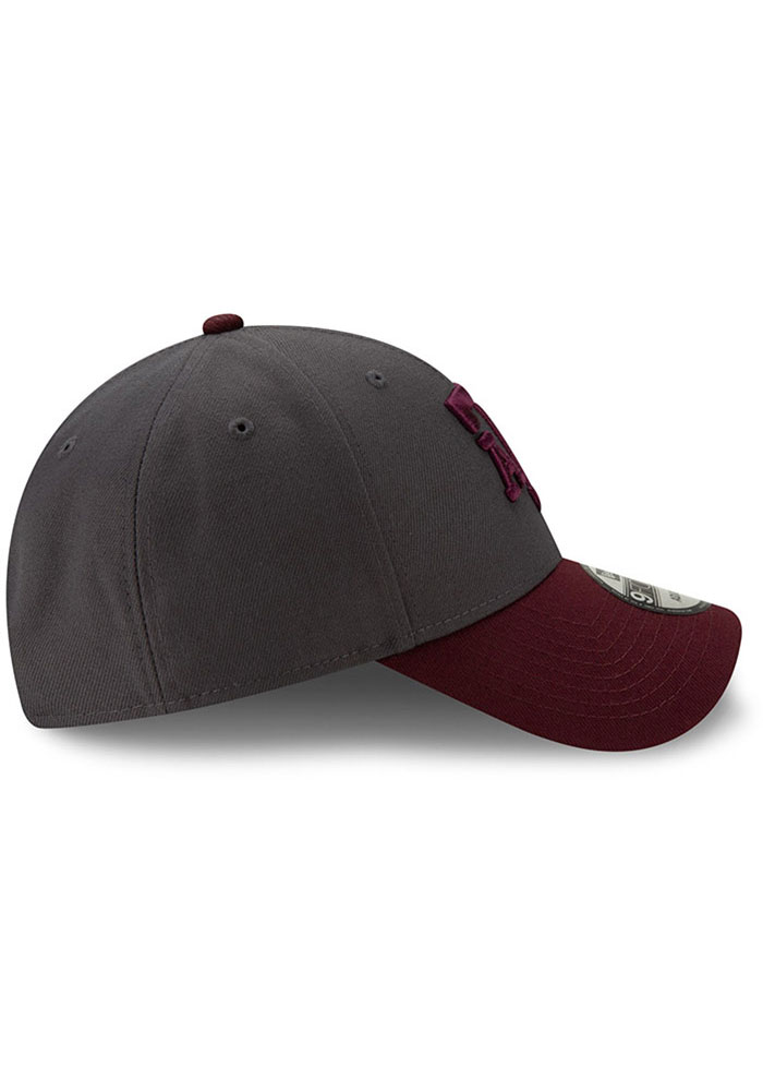 New Era Texas A&M Aggies League 9FORTY Adjustable Hat - Grey - Image 6
