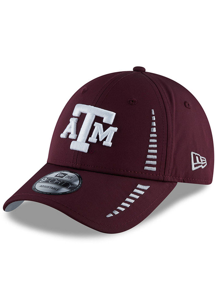 Texas A&M Aggies New Era Speed 9FORTY Adjustable Hat - Maroon
