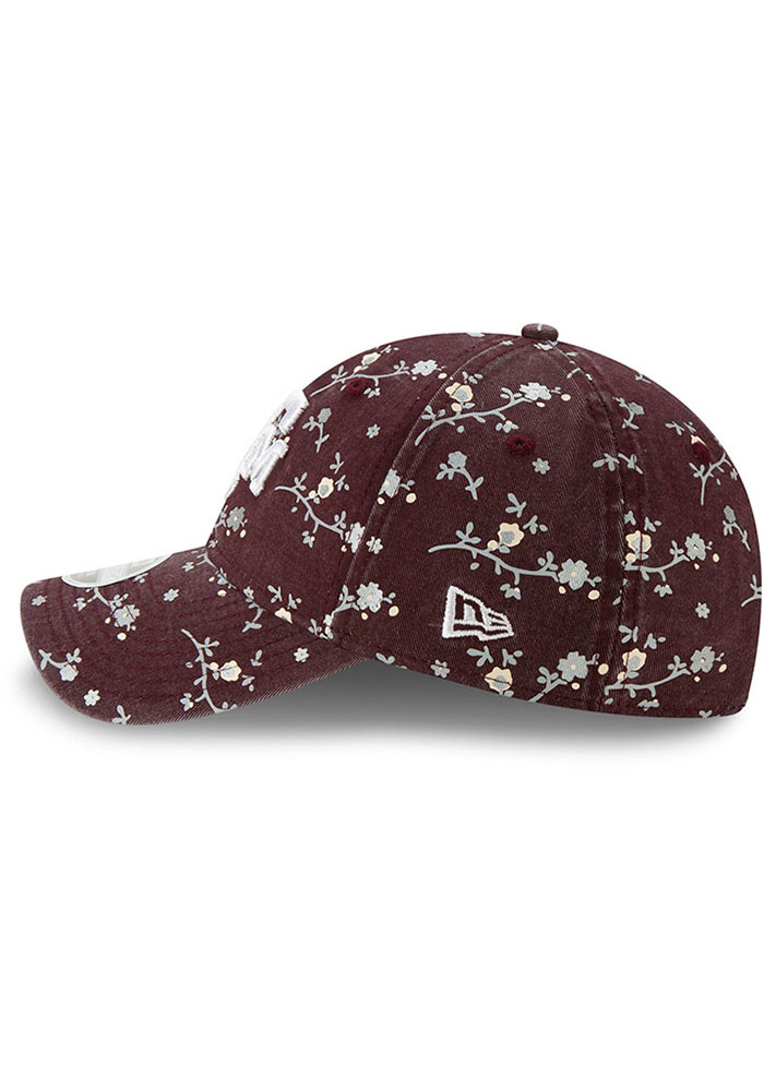 New Era Texas A&M Aggies Maroon Blossom 9TWENTY Womens Adjustable Hat - Image 4