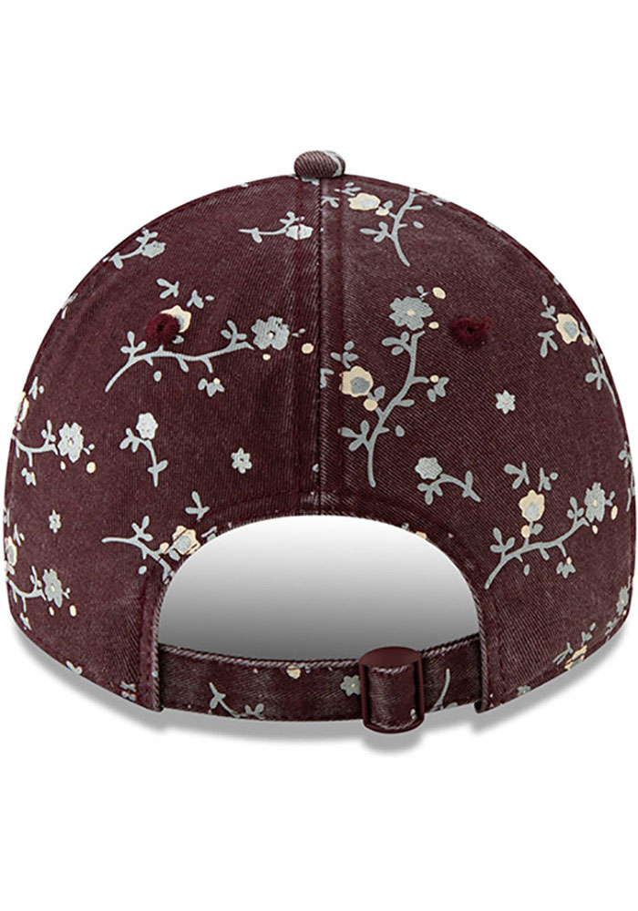 New Era Texas A&M Aggies Maroon Blossom 9TWENTY Womens Adjustable Hat - Image 5