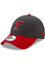 New Era Texas Tech Red Raiders Grey JR League 9FORTY Youth Adjustable Hat