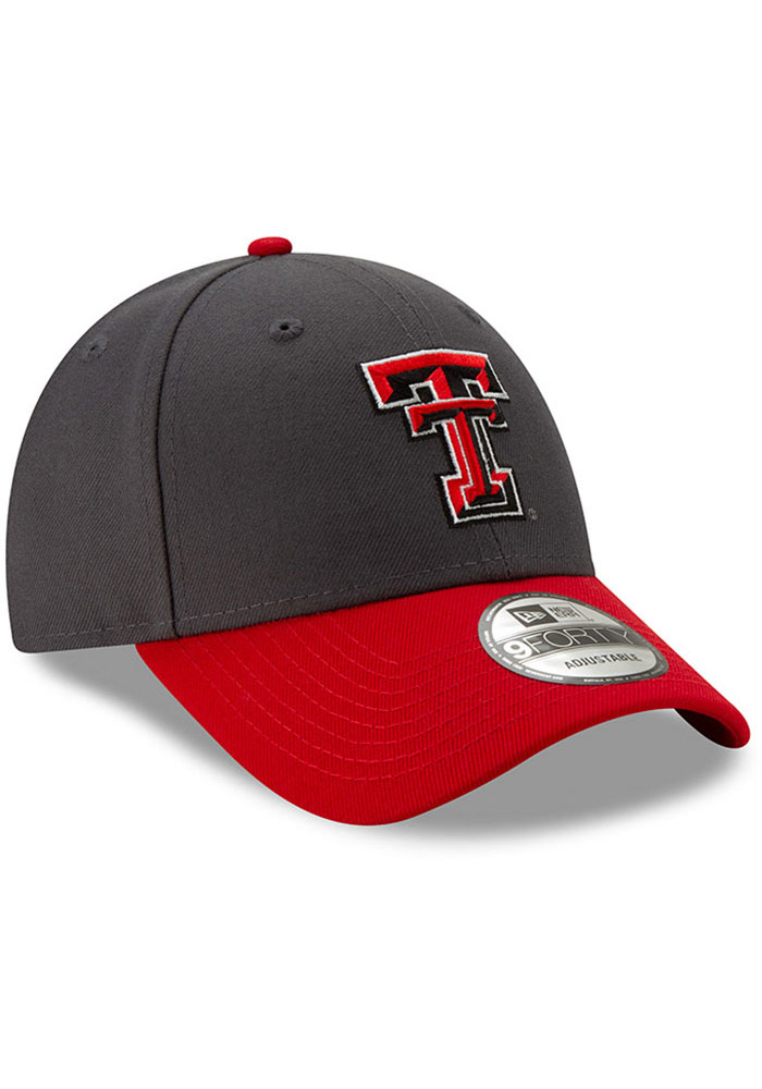 New Era Texas Tech Red Raiders League 9FORTY Adjustable Hat - Grey - Image 2