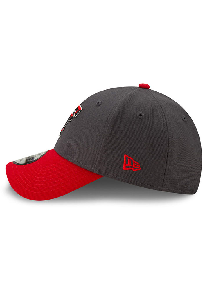 New Era Texas Tech Red Raiders League 9FORTY Adjustable Hat - Grey - Image 4