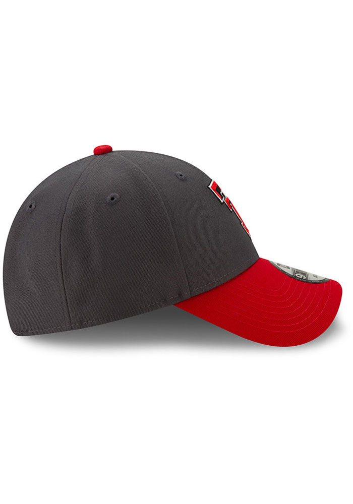 New Era Texas Tech Red Raiders League 9FORTY Adjustable Hat - Grey - Image 6