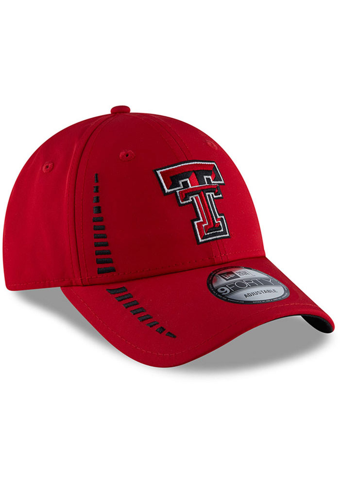 New Era Texas Tech Red Raiders Speed 9FORTY Adjustable Hat - Red - Image 2