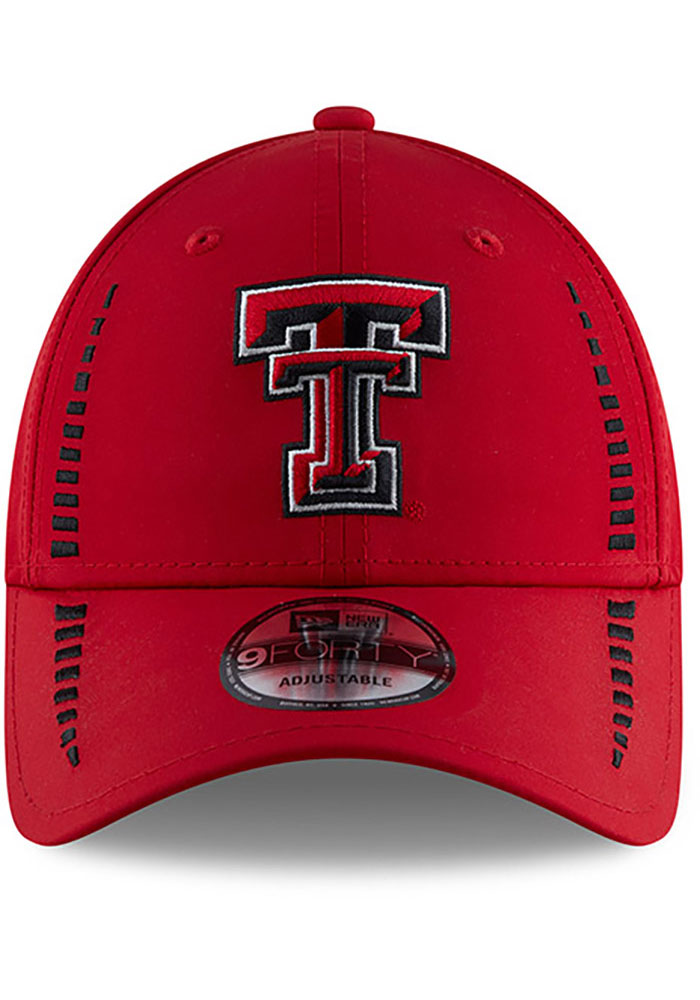 New Era Texas Tech Red Raiders Speed 9FORTY Adjustable Hat - Red - Image 3