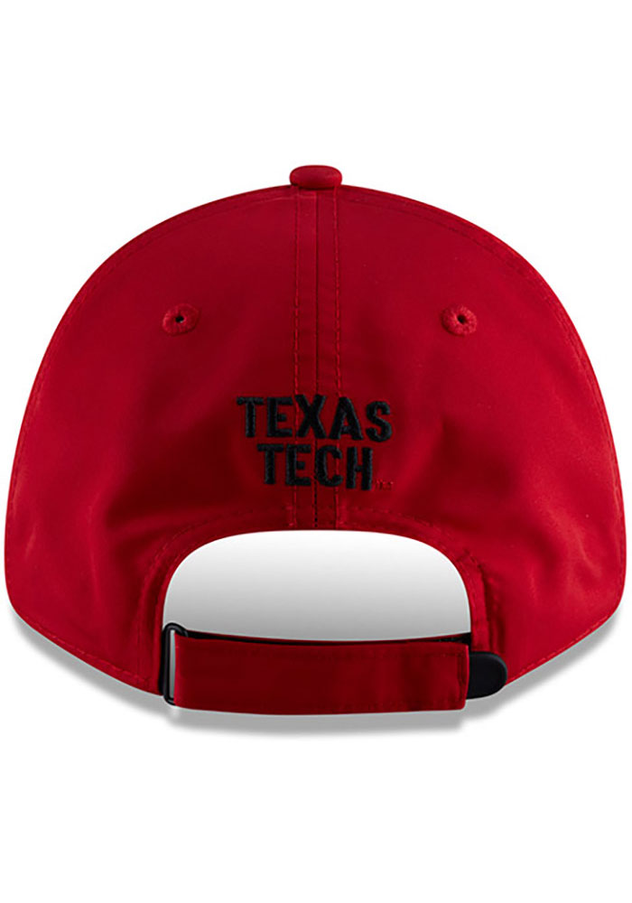 New Era Texas Tech Red Raiders Speed 9FORTY Adjustable Hat - Red - Image 5