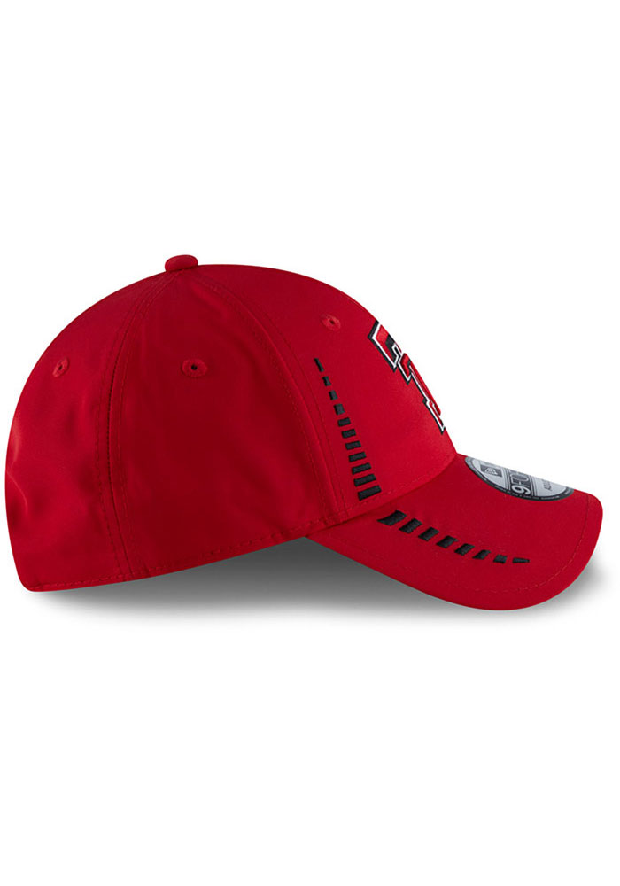 New Era Texas Tech Red Raiders Speed 9FORTY Adjustable Hat - Red - Image 6