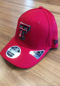 New Era Texas Tech Red Raiders Red Team Stretch 9FIFTY Snapback Hat