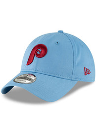 Philadelphia Phillies New Era Core Classic 9TWENTY Adjustable Hat - Light Blue