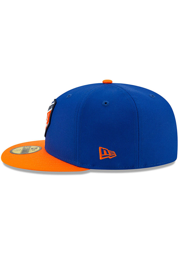 New Era FC Cincinnati Mens Blue Home Jersey Hook 59FIFTY Fitted Hat - Image 4