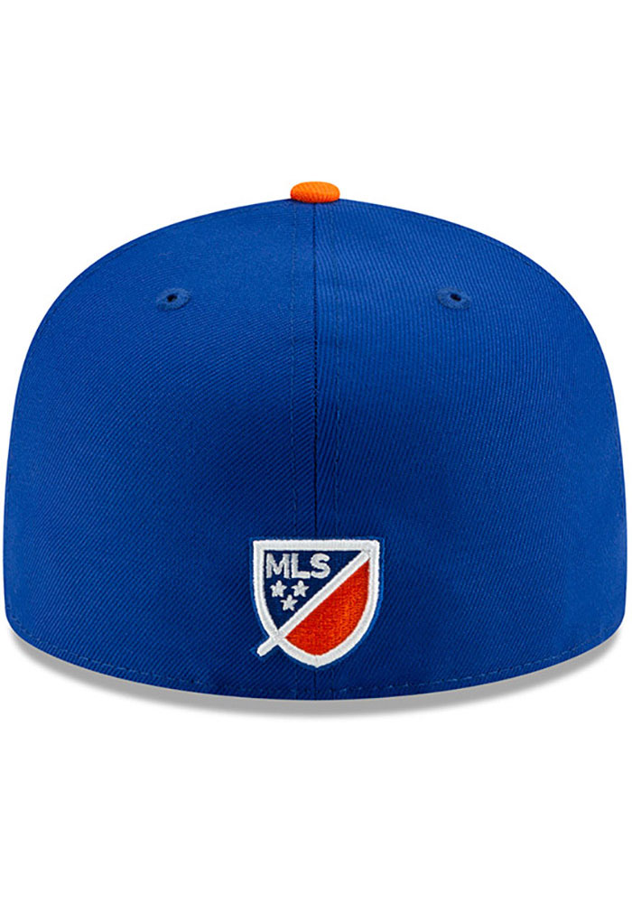 New Era FC Cincinnati Mens Blue Home Jersey Hook 59FIFTY Fitted Hat - Image 5