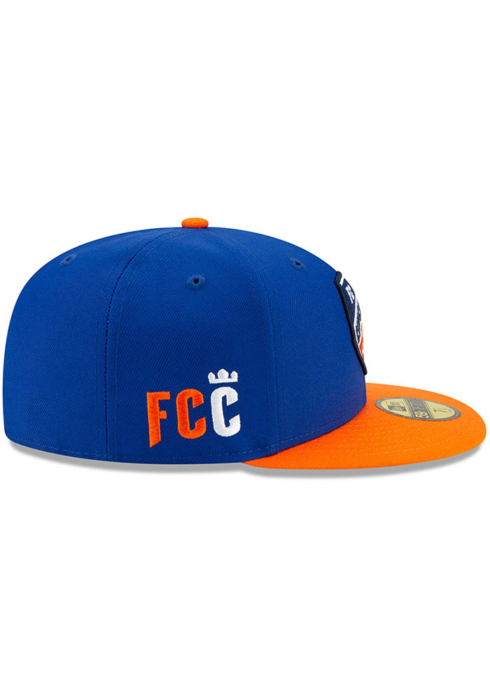 New Era FC Cincinnati Mens Blue Home Jersey Hook 59FIFTY Fitted Hat - Image 6