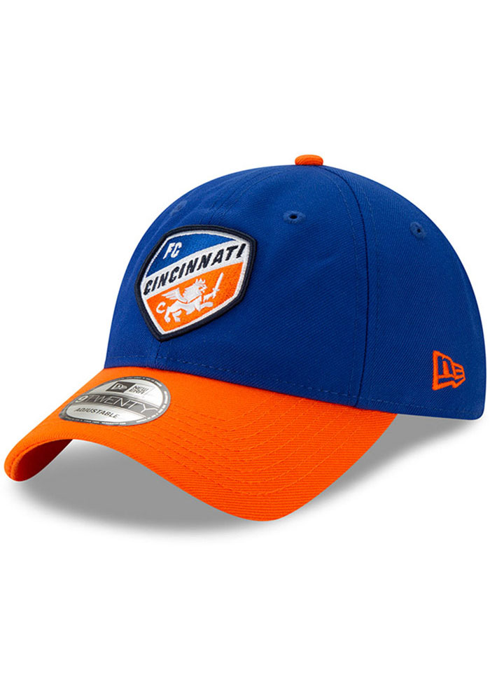 New Era FC Cincinnati Home Jersey Hook 9TWENTY Adjustable Hat - Blue - Image 1