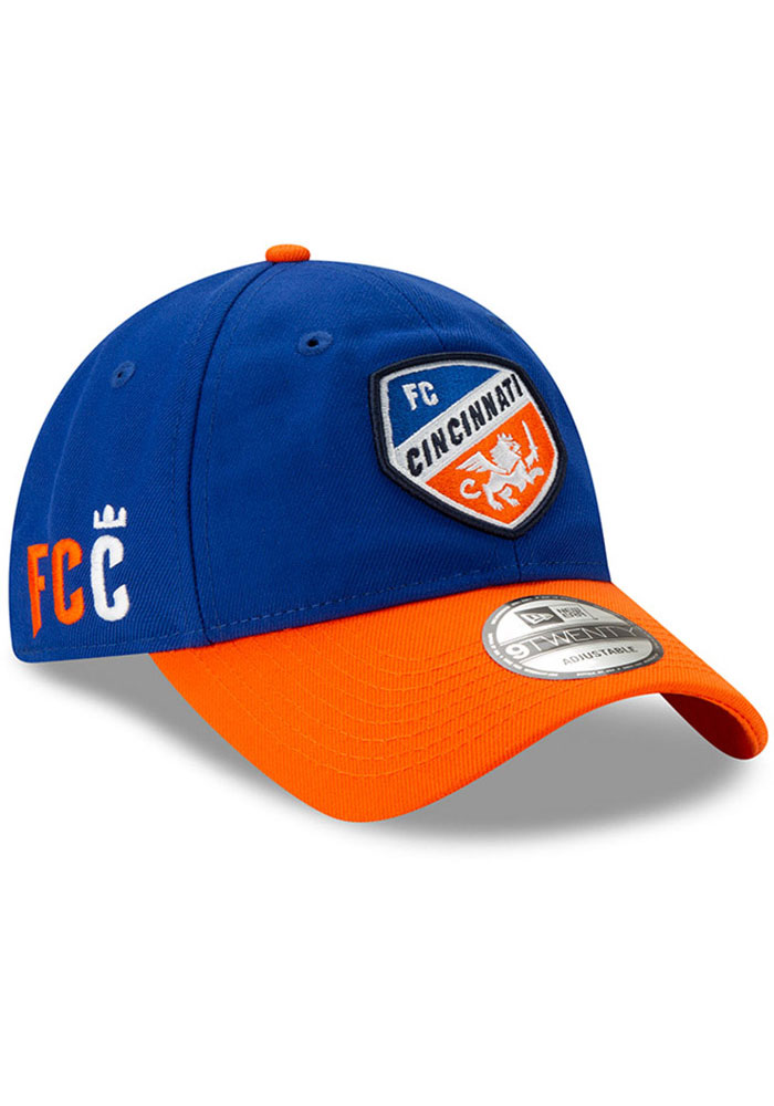 New Era FC Cincinnati Home Jersey Hook 9TWENTY Adjustable Hat - Blue - Image 5