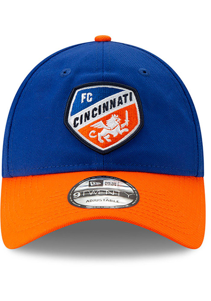New Era FC Cincinnati Home Jersey Hook 9TWENTY Adjustable Hat - Blue - Image 6