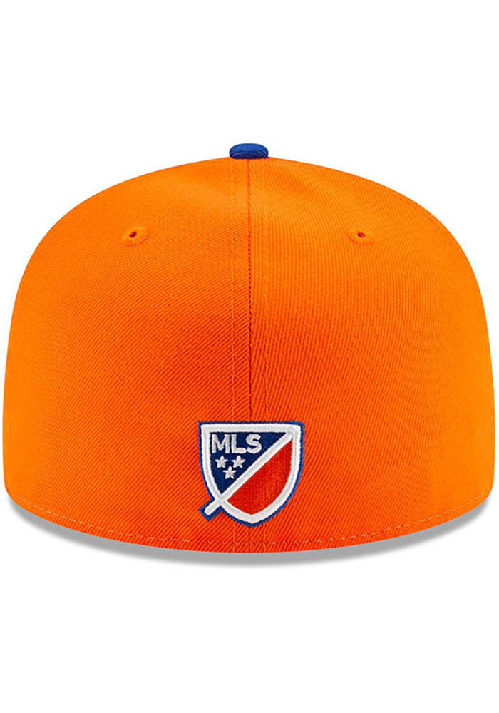New Era FC Cincinnati Mens White Away Jersey Hook 59FIFTY Fitted Hat - Image 5