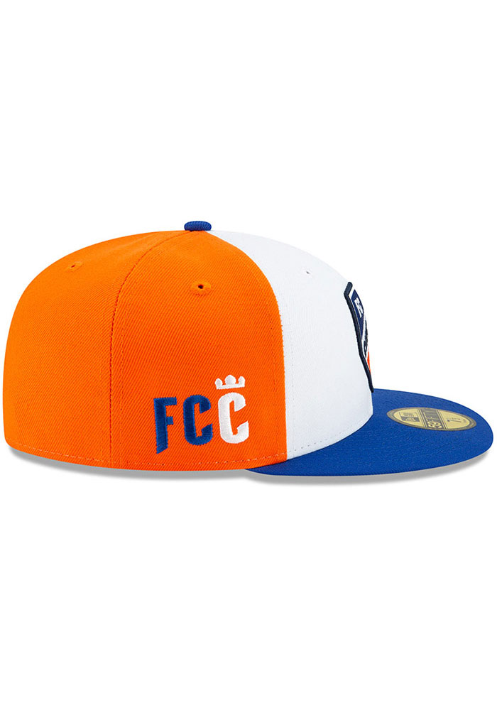 New Era FC Cincinnati Mens White Away Jersey Hook 59FIFTY Fitted Hat - Image 6