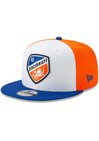 FC Cincinnati New Era Away Jersey Hook 9FIFTY Snapback - White