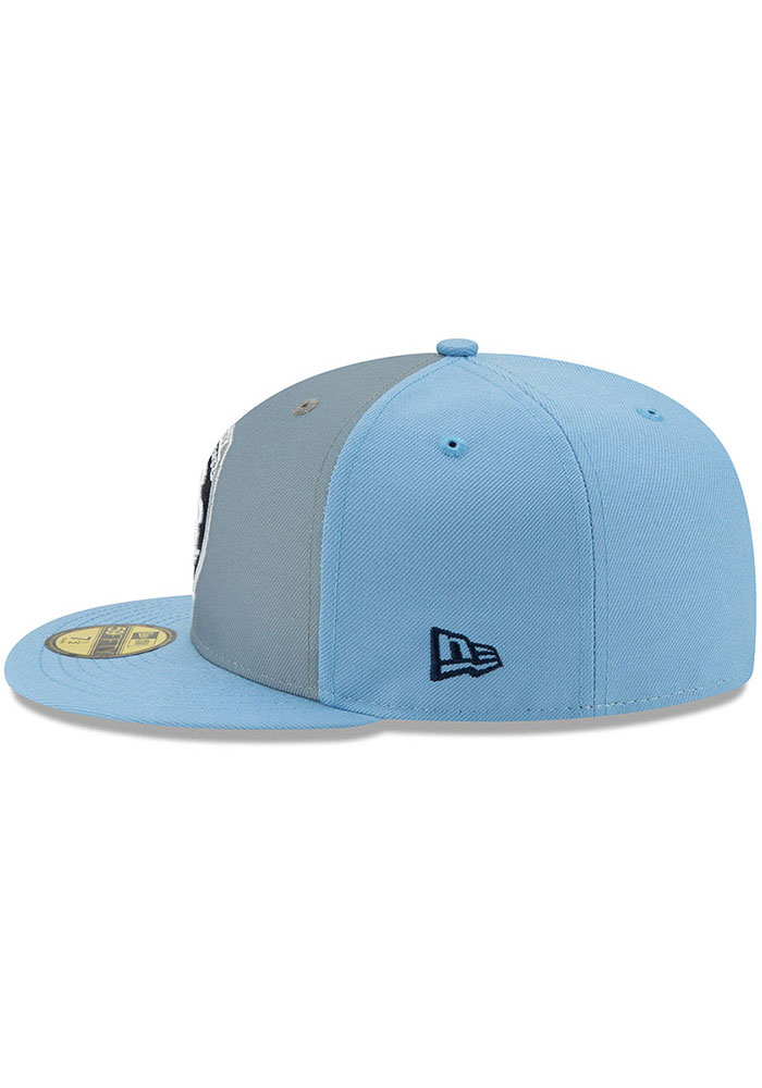 New Era Sporting Kansas City Mens Light Blue Home Jersey Hook 59FIFTY Fitted Hat - Image 4