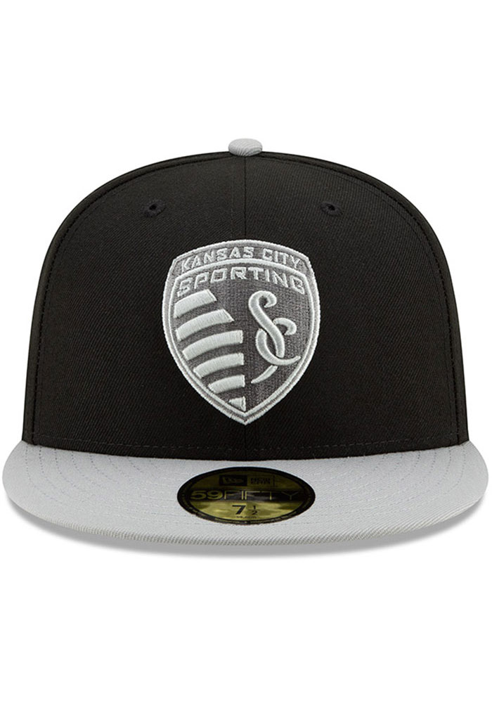 New Era Sporting Kansas City Mens Black Away Jersey Hook 59FIFTY Fitted Hat - Image 3