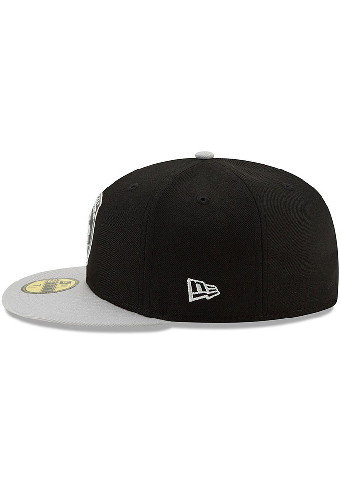 New Era Sporting Kansas City Mens Black Away Jersey Hook 59FIFTY Fitted Hat - Image 4