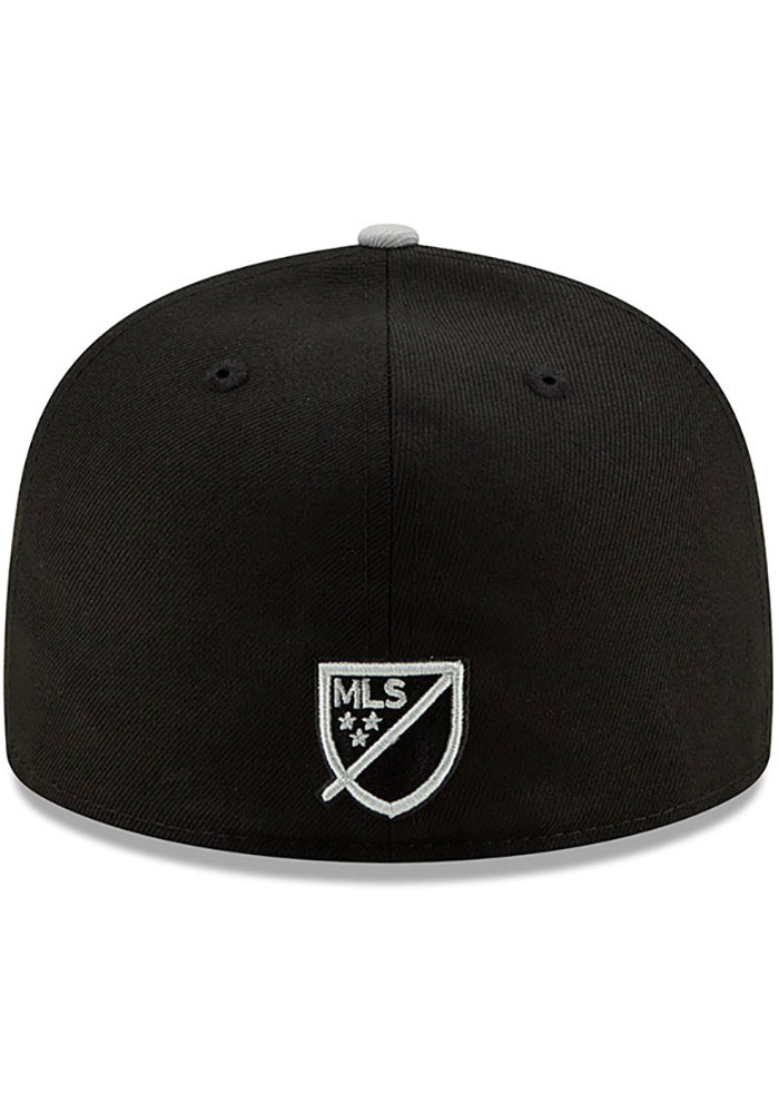 New Era Sporting Kansas City Mens Black Away Jersey Hook 59FIFTY Fitted Hat - Image 5
