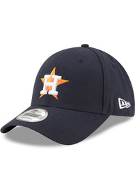 Houston Astros New Era The League 9FORTY Adjustable Hat - Navy Blue