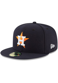 Houston Astros New Era AC Game 59FIFTY Fitted Hat - Navy Blue