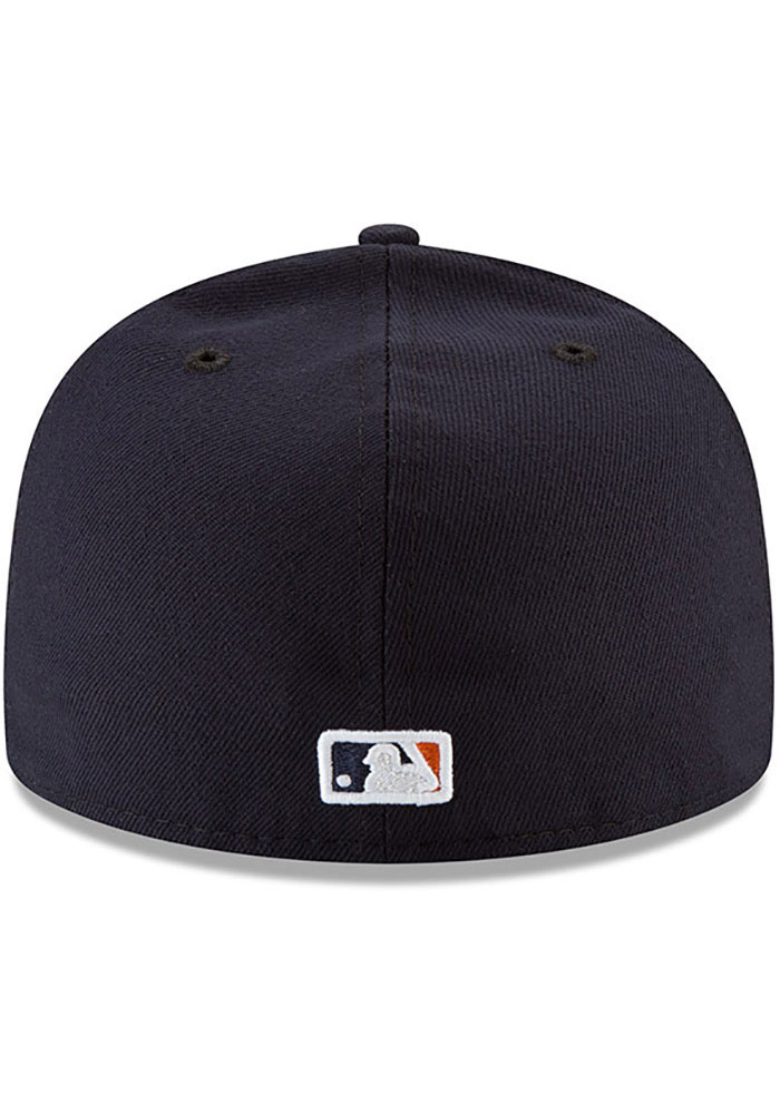 New Era Houston Astros Mens Navy Blue AC Game 59FIFTY Fitted Hat - Image 5