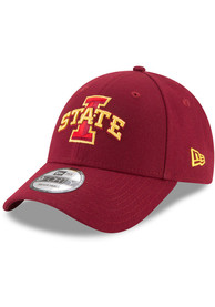 Iowa State Cyclones New Era The League 9FORTY Adjustable Hat - Cardinal
