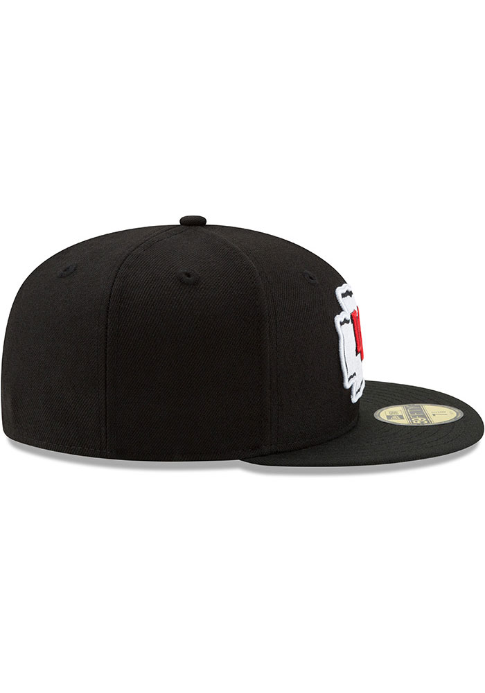 New Era Kansas City Chiefs Mens Black Basic 59FIFTY Fitted Hat - Image 6