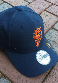 Chicago Bears New Era Elemental 9FORTY Adjustable Hat - Navy Blue