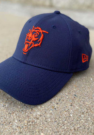 New Era Chicago Bears Navy Blue Elemental 39THIRTY Flex Hat